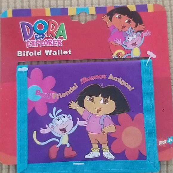 Dora the Explorer and Boots Trifold Wallet